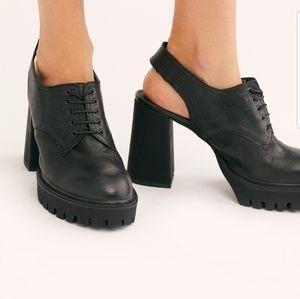 Free People Shoes - Free People Salem Slingback Platforms
